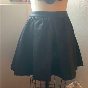 Bcbgenration Black denim skirt